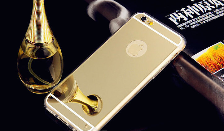 When there's not enough time to get yourself together before leaving your house, the Gold Mirror iPhone Case ($10) comes in handy. It's a great option that lets you take a quick glance at yourself before work.