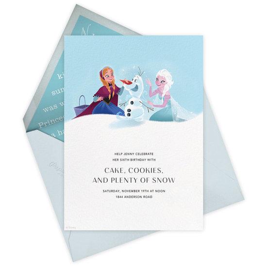 Disney Paperless Post Party Invitations