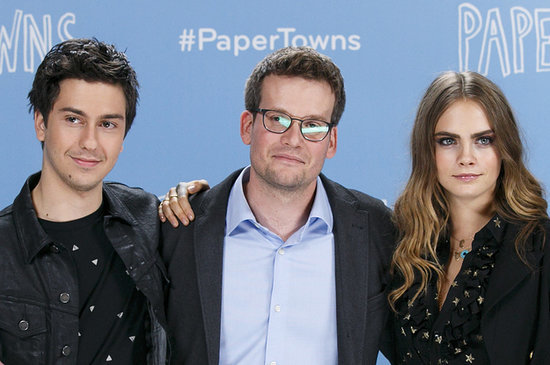 "John Green Reveals Cast Secrets From The Set Of ""Paper Towns"""
