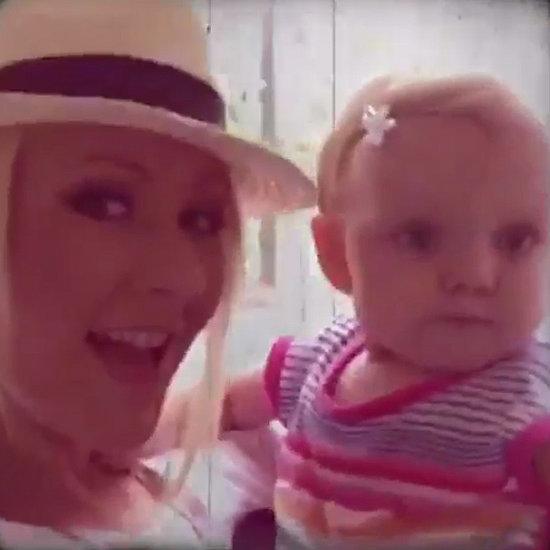 Christina Aguilera's Video of Summer July 2015