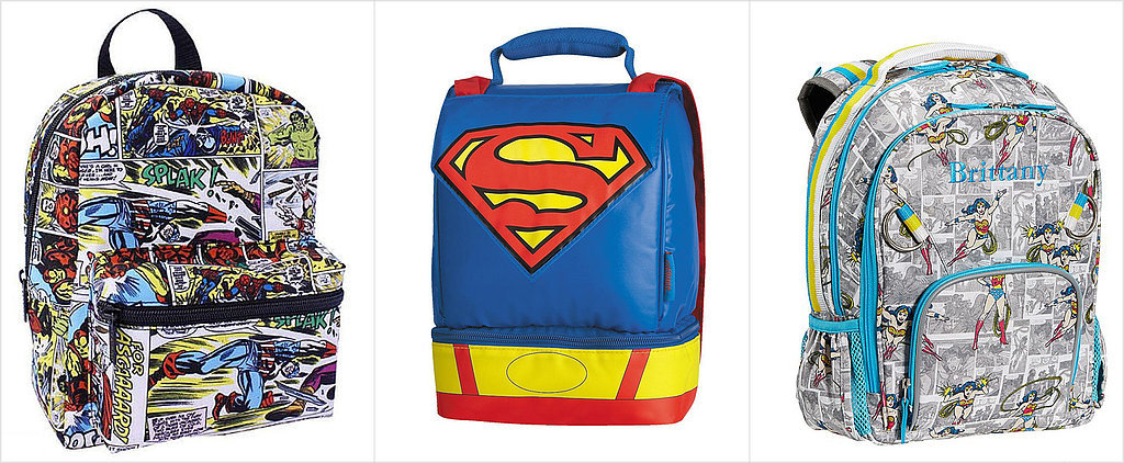 38 Superhero Backpacks and Lunch Boxes For Your Little Hero