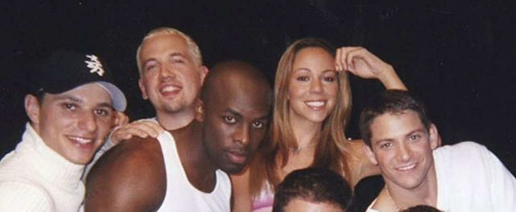This Mariah Carey and 98 Degrees Flashback Photo Will Make You Miss the '90s