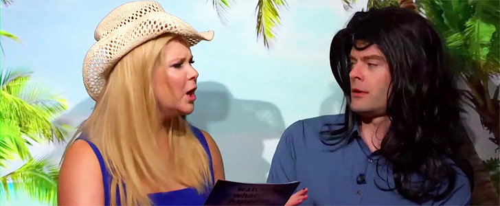 Amy Schumer and Bill Hader's Real Housewives Reenactment Will Make Your Day