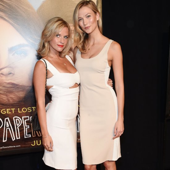 Karlie Kloss Brings Her Ridiculously Gorgeous Sister to the Paper Towns Premiere in NYC