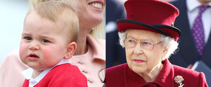 Happy Birthday, Prince George! The Adorable Expressions He Inherited From the Queen