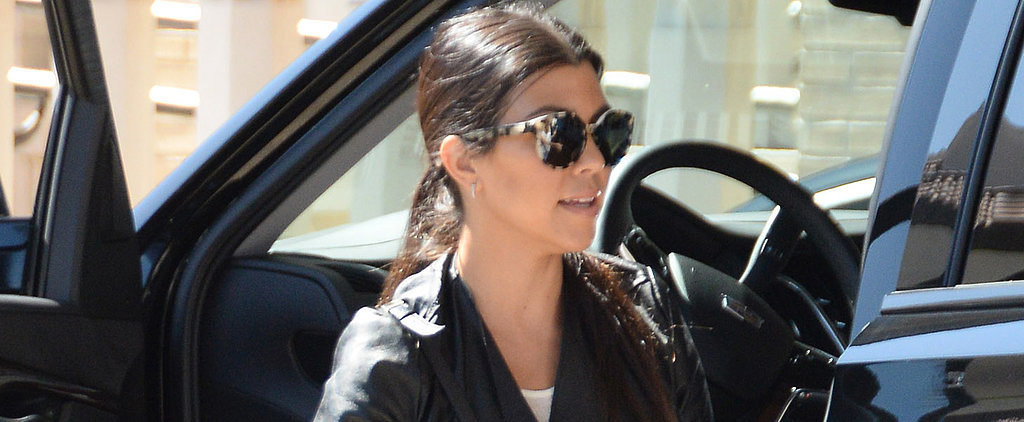 Kourtney Kardashian and Scott Disick Meet Up During Split