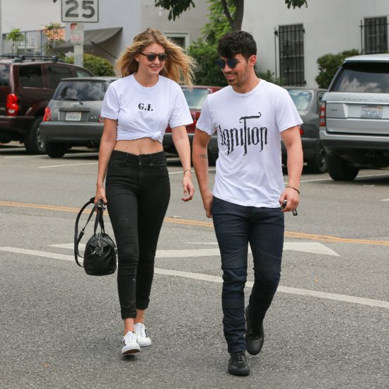 "Gigi Hadid and Joe Jonas Give a Hilarious Nod to Their ""G.I. Joe"" Couple Name"