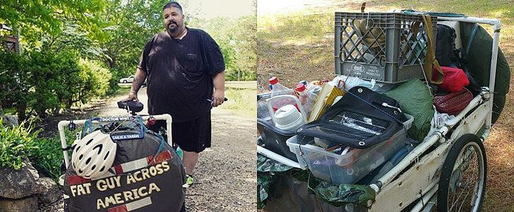 A 560-Pound Man Goes on a 7-Month Bike Ride to Win Back His Wife