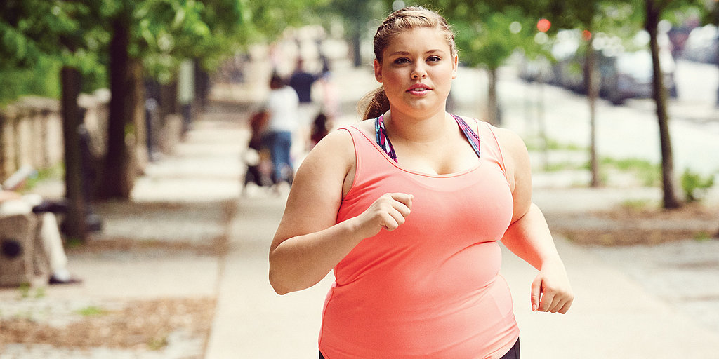 This Plus-Size Model Has Some Serious Wise Words For Anyone Who Wants to Run