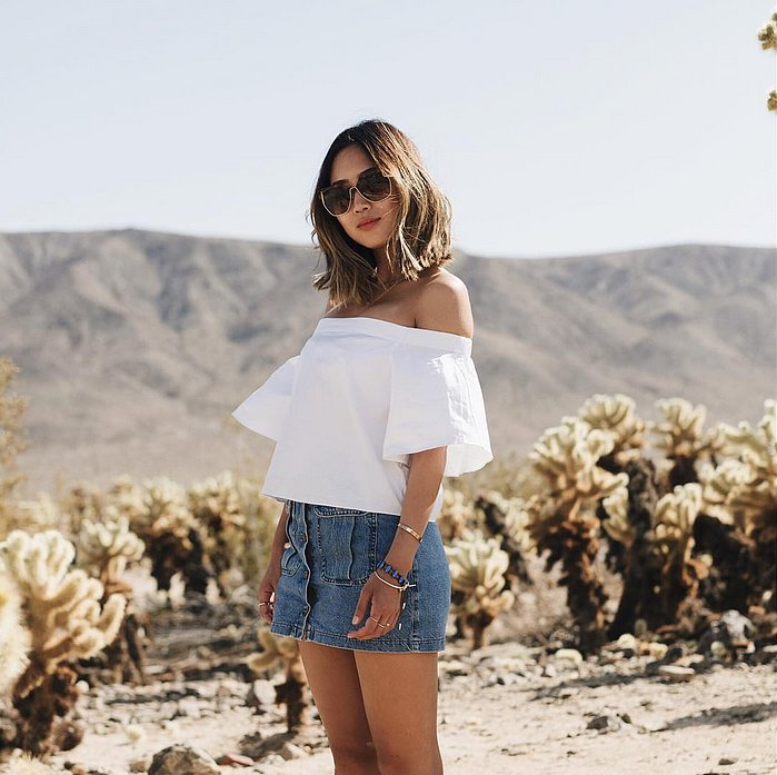 YOU ARE THE STYLE: Aimee Song, fashion blogger, Rabat