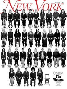35 Cosby Accusers Sit for Striking Cover Photo