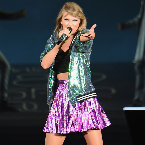 "Katy Perry's Left Shark Made a Cameo in Taylor Swift's ""Bad Blood"" Performance"