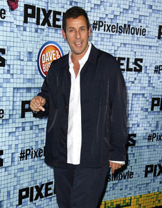 Adam Sandler in Pixels movie review