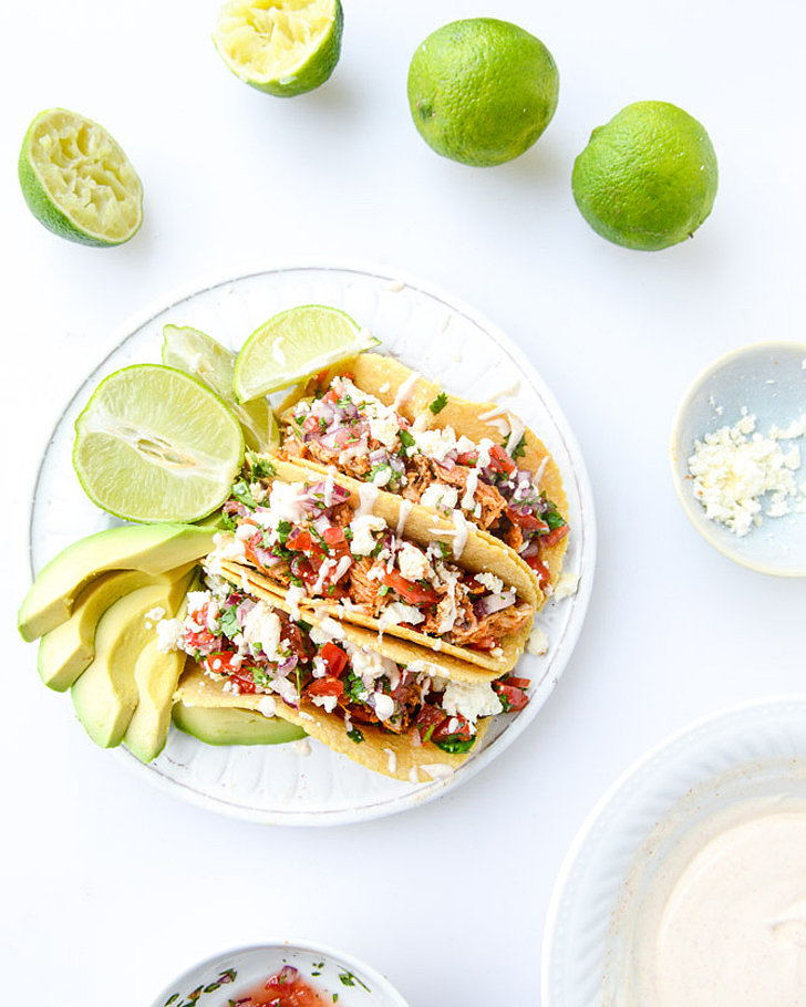 Weeknight Chicken Tacos