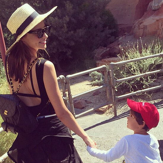 Miranda Kerr's Picture of Flynn July 2015