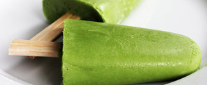 Refresh and Caffeinate With Green Tea Popsicles