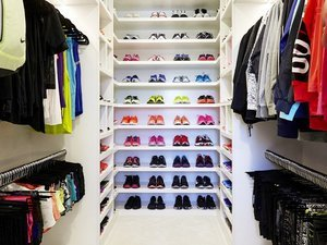 Khloé Kardashian's Fitness Closet is Completely Insane