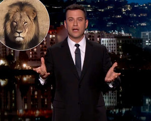Jimmy Kimmel Gets Choked Up on Air About Cecil the Lion, Rips Accused Hunter Walter Palmer