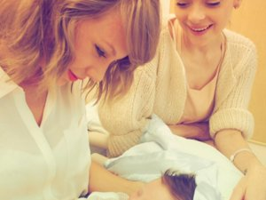 Taylor Swift Meets Her Godson For The First Time, And It Was Predictably Adorable