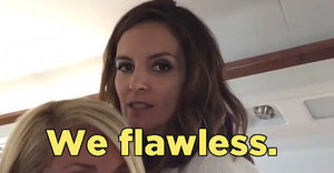 "Watch Tina Fey Lip Sync Perfectly To Beyoncé's ""Flawless"""