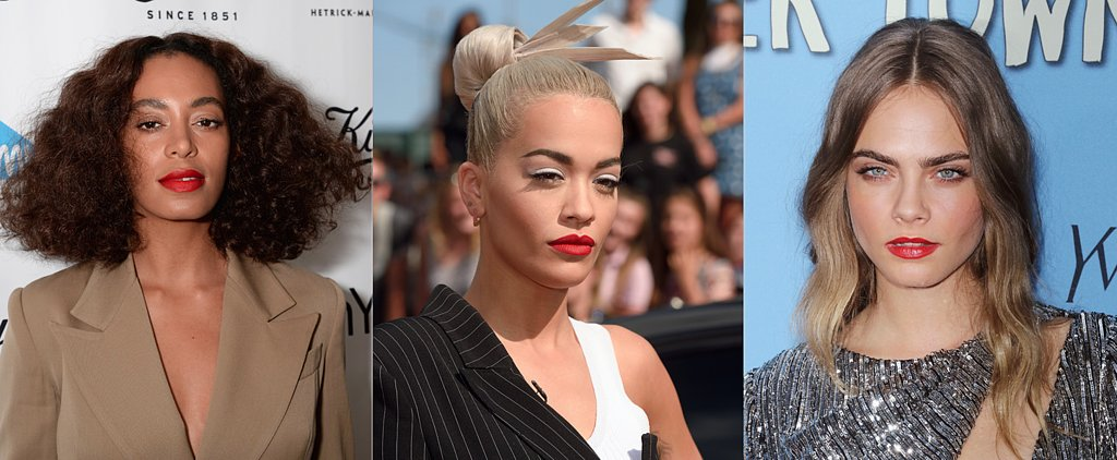 33 Celebrities Who Prove Red Lipstick Looks Good on Every Skin Tone