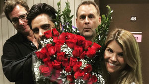 Lori Loughlin Celebrates Her 51st Birthday on the 'Fuller House' Set