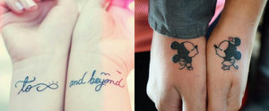 24 Disney Couple Tattoos That Prove Fairy Tales Are Real