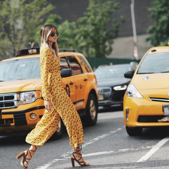 Wide-Leg Jumpsuits Trend