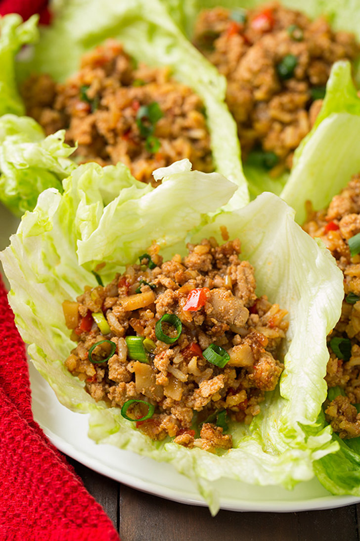Slow-Cooker Asian Chicken Lettuce Wraps | 23 Chicken ...