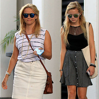 Reese Witherspoon and Ava Out in LA July 2015