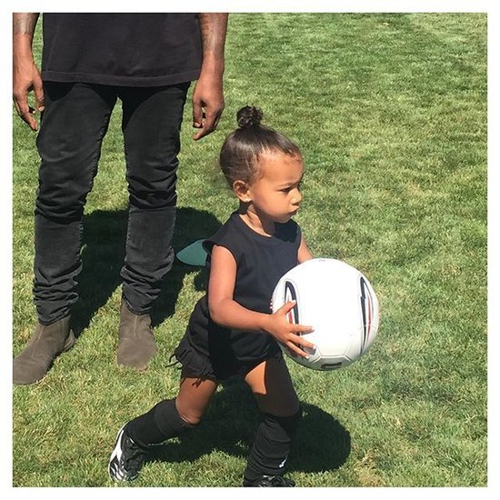 "Kim Kardashian Is ""Officially a Soccer Mom"" — See Her New Snaps of North!"