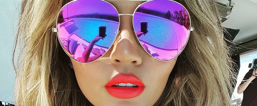 Chrissy Teigen's Poolside Look Is Our Start-of-Summer #Goals