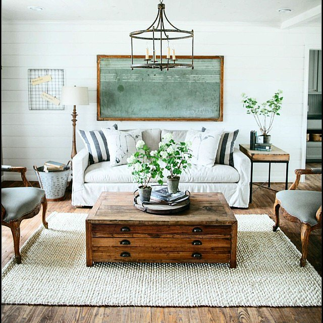 Fixer upper decorating inspiration popsugar home for Joanna gaines home designs