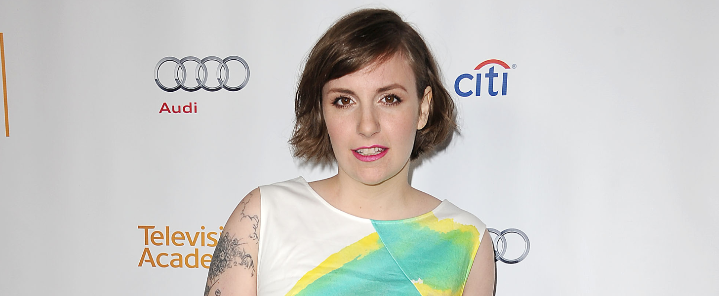 You Won't Believe How Lena Dunham Celebrated National Mutt Day