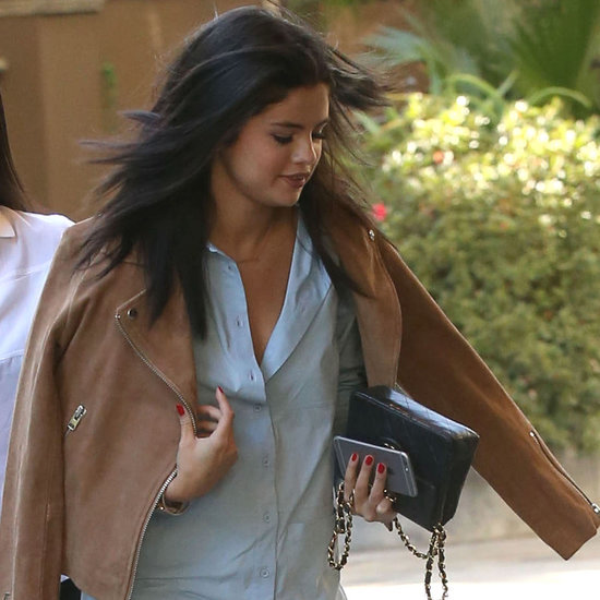Selena Gomez Shows Major Leg on Her Sunny Day Out