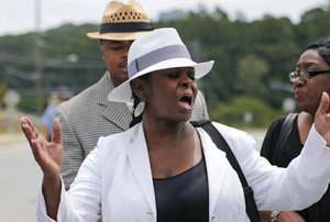 Bobby Brown's Sister Was Kicked Out Of Bobbi Kristina's Funeral Service