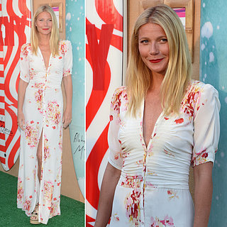 Get the Look: Gwyneth Paltrow's Button-Down Maxi Dress