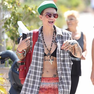 Ruby Rose Bikini Pictures Ibiza August 2015