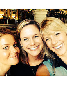 Fuller House Cast Selfie Reunites D.J., Kimmy, Stephanie! See Candace Cameron Bure, Andrea Barber, and Jodie Sweetin's Cute Pic