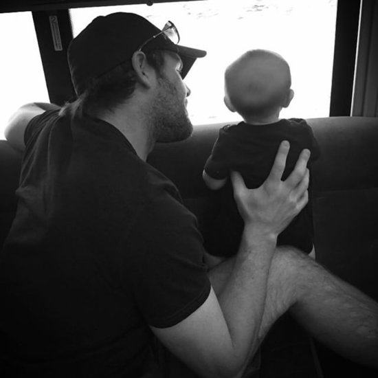Carrie Underwood Tour Bus Photo of Baby Isaiah