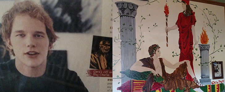 Someone Found Chris Pratt's Painting in a Restaurant, and It's Pretty Glorious