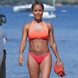 Jada Pinkett Smith Wearing a Bikini in