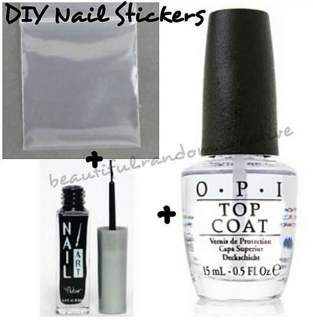 Master The AtHome Manicure With These  Nail Hacks Nail Splash - How to make nail decals at home