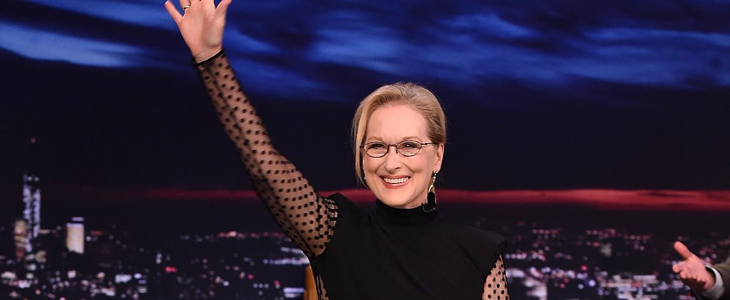 Meryl Streep Flawlessly Pulled Off a Sheer Jumpsuit