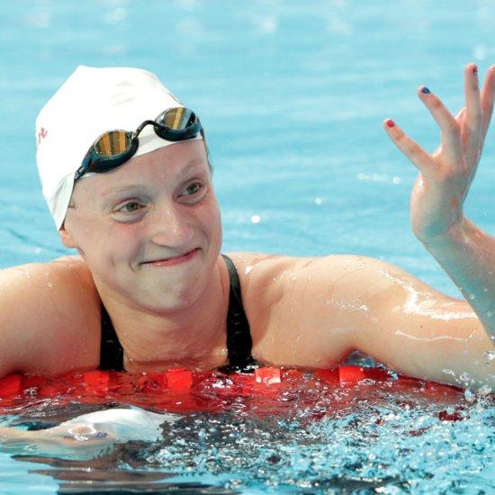 Katie Ledecky Breaks 1500 Meter Record