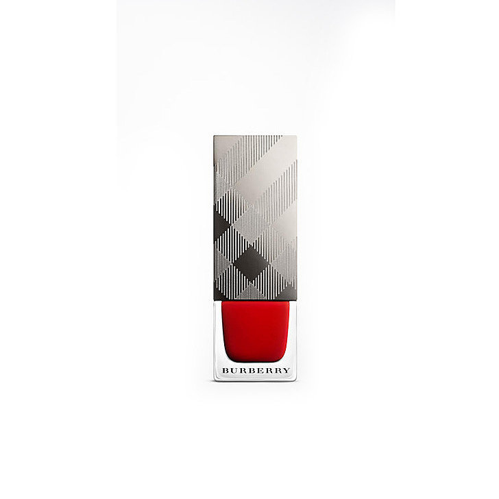 Black Poppy Nail Polish: Burberry Nail Polish In Poppy Red, $29