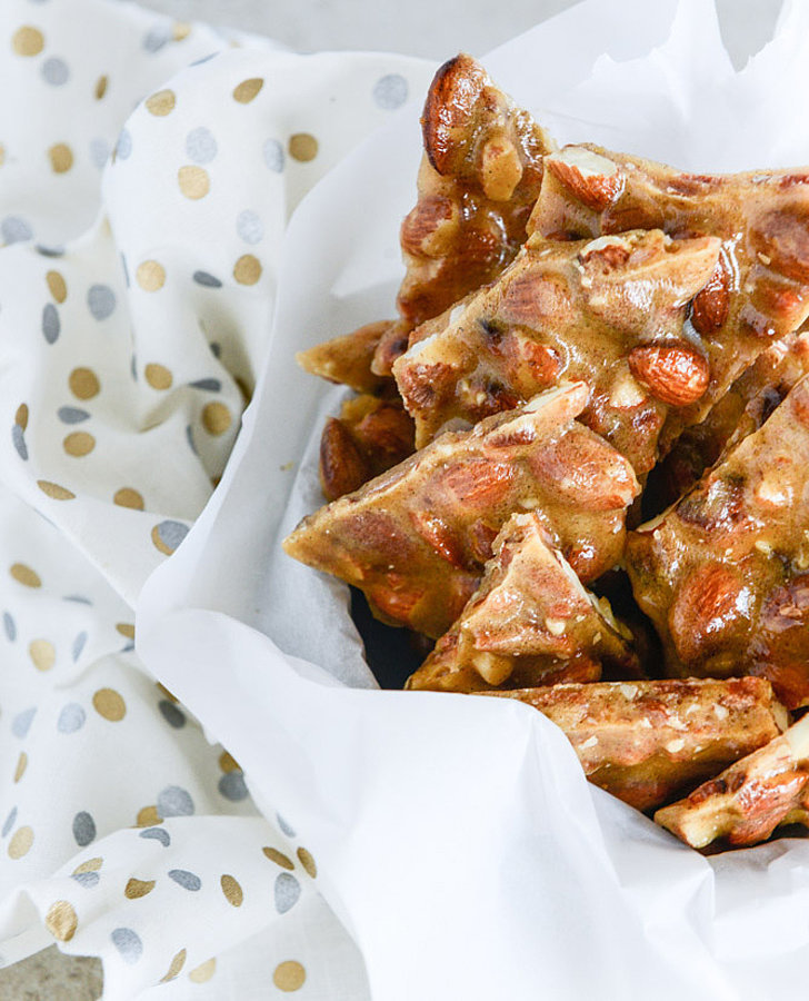 Bacon-Vanilla Almond Brittle