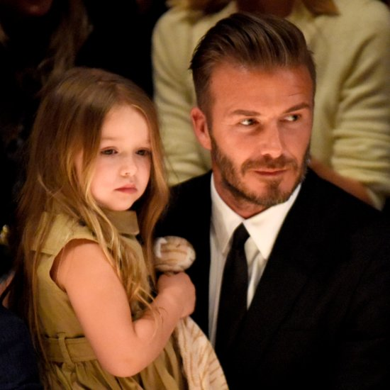 David Beckham Shuts Down Haters About Harper's Pacifier