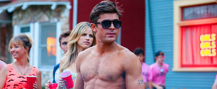 23 Shirtless Zac Efron GIFs to Get You All Hot and Bothered on His Birthday