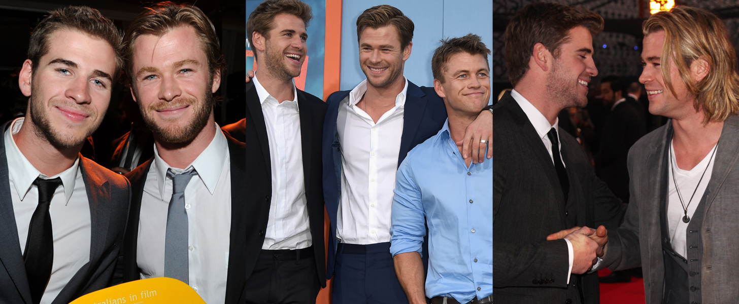 Swoon Over Chris Hemsworth's Cutest Moments With His Brothers, Liam and Luke